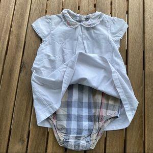 Dress body 9 / 12 months Burberry